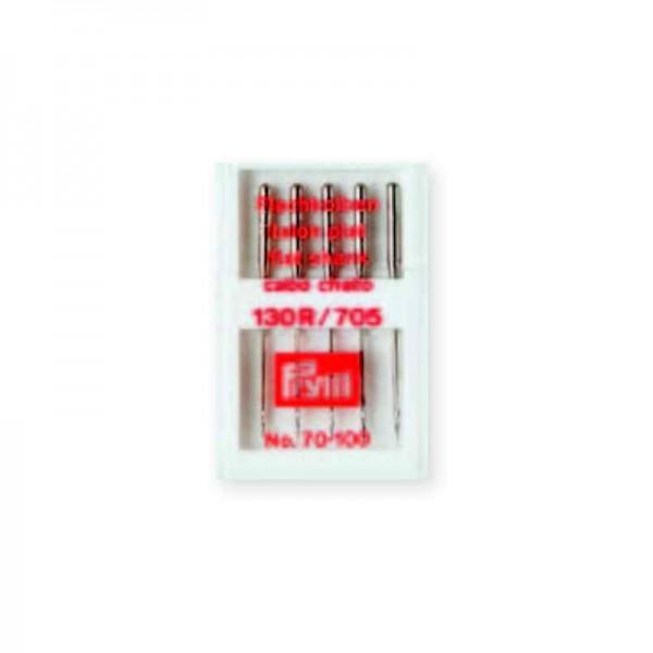 Nähmaschinennadeln 130/705 Standard Stärke 90 silberfarbig 10 St