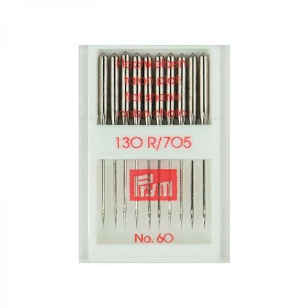 Nähmaschinennadeln 130/705 Standard Stärke 60 silberfarbig 10 St