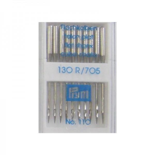 Nähmaschinennadeln 130/705 Standard Stärke 110 silberfarbig 10 St